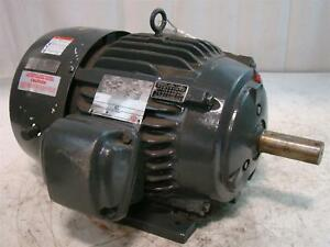 Emerson 15hp Motor 230 460v Ph3 3545rpm X15e1b Af94