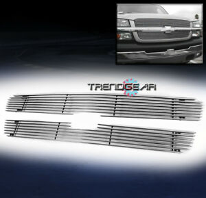 2003 2005 Chevy Silverado 1500 Hd Ss 2002 Avalanche Upper Billet Grille Grill
