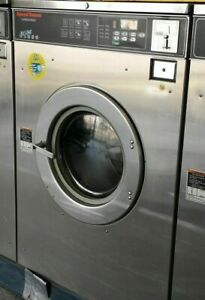 Speed Queen Front Load Washer Coin Op 50 Lbs 3ph S n M1297116683 refurb