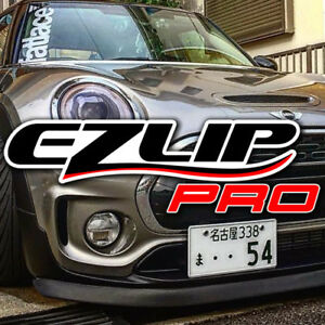 Original Ez Lip Pro Spoiler Body Kit Protector Trim For Lotus Mini Jaguar Ezlip