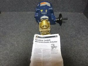 New Dynaquip Controls 2 Bronze Electric Ball Valve Eva68ame25