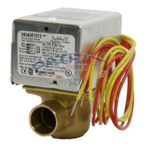 Honeywell V8043e1012 24v 3 4 N c Sweat Zone Valve With End Switch