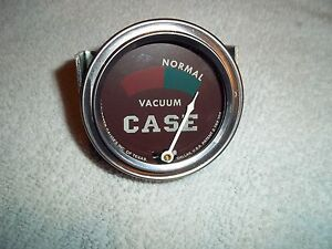 New Usa Vacuum Gauge non Working Case Tractor Diesels 400 500 600 700 800 900