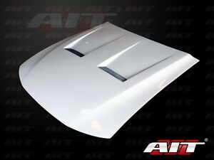 2005 2009 Ford Mustang Ait Type 6 Style Functional Cooling Hood Aero Body Kit