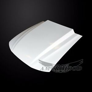 For 1999 04 Ford Mustang Type Cowl Style 3 Inch Functional Cooling Cowl Frp Hood