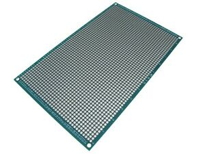 Hq 20 30cm Double Side Prototype Board Perforated 2 54mm Plated Breadboard