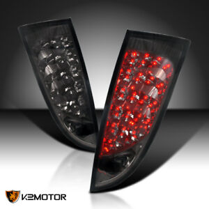 Fits 2000 2006 Ford Focus 3 5dr Hatchback Wagon Smoke Tinted Led Tail Lights