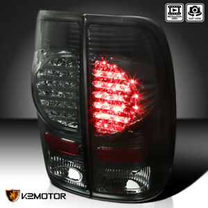 97 03 Ford F150 99 07 F250 f350 f450 Smoke Rear Brake Led Tail Lights Left right