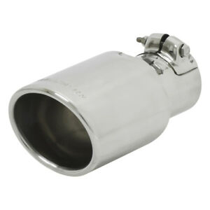Flowmaster 15388 Polished Stainless Oval Exhaust Tip Fits 2 25 Pipe Clamp on