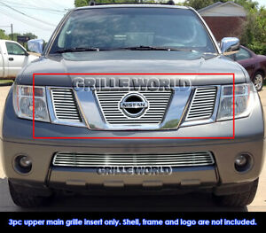 For 2005 2007 Nissan Frontier Pathfinder With Logo Cnc Perimeter Grille