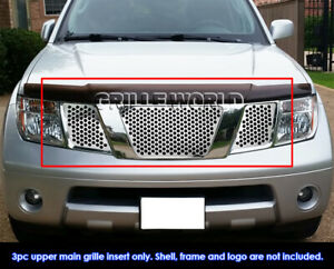 For 2005 2007 Nissan Frontier Pathfinder With Logo Punch Grille Sheet