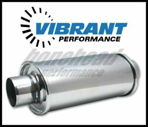 Vibrant Performance 1142 Ultra Quiet Resonator 3 Inlet Oulet