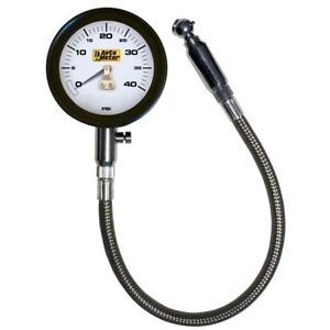 Auto Meter 2162 Mechanical Tire Pressure Gauge 40 Psi