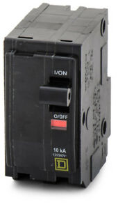 Square D Qo2100 2p 100a Sq d 240v Breaker
