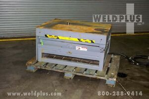 Pentalift 5 000 Lb Hydraulic Lift Table