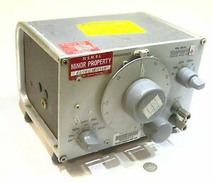 Genrad General Radio 1309 a Used Military Signal Generator Frequency Oscillator