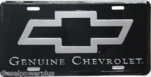 Chevrolet Chevy Gmc Genuine Tag Emblem License Plate Extended Cab Long Short Bed