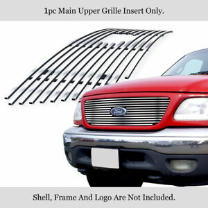 Premium 304 Stainless Steel Billet Grille 99 03 Ford F 150 Lightning Honeycomb