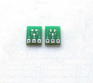 50pcs New Double side Smd Sot23 3 To Dip Sip3 Adapter Pcb Board Diy Converter