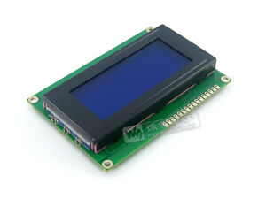 5pcs Lcd 16x4 1604 Character Lcd Display Module Lcm Blue Blacklight 5v New Y2