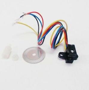 2pcs Photoelectric Speed Sensor Encoder Coded Disc Code Wheel For Freescale Car