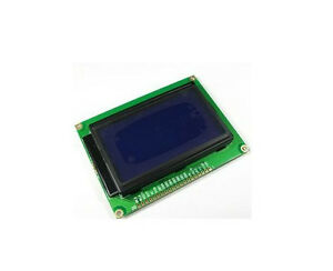3 3v 12864 Lcd Display Module Blue Display Backlight Graphic St7920 Controller