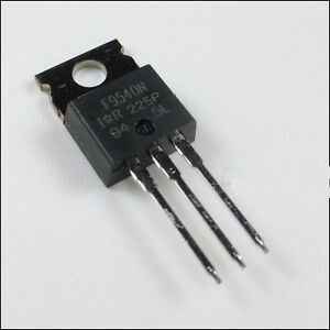 5 X Irf9540 P channel Power Mosfet 23a 100v To 220 ir