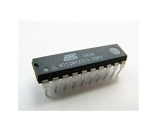 50pcs Attiny2313 20pu Attiny2313 Dip20 Mcu Avr New Good Quality