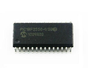 10pcs Ic Pic18f2550 i so Pic18f2550 Sop28 Microcontroller Mcu New Good Quality