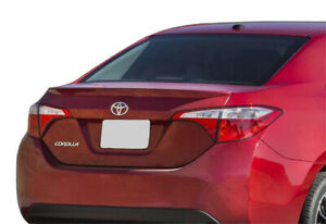 2014 2016 Toyota Corolla Painted Factory Style Rear Lip Spoiler Brand New