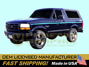 Compatible With 1991 1992 Ford Nite Truck F150 Bronco Cab Bed Decals Stripe Kit