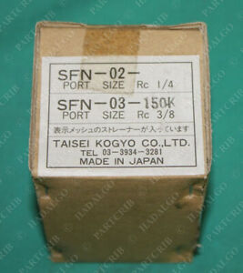 Taisei Kogyo Hydraulic Suction Filter Sfn 03 150k New
