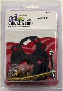 Allis Chalmers Carburetor Kit For Zenith Model B Rc
