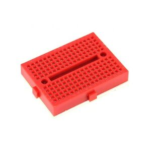 1pcs Red Solderless Prototype Breadboard 170 Syb 170 Tie points For Arduino