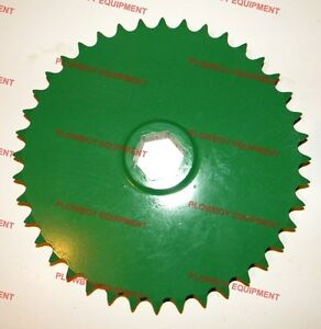 Ae39654 Upper Drive Roll Sprocket For John Deere Baler 385 435 448 466 535 556