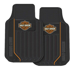 Harley Davidson Motorcycle Floor Mats Rubber Car Truck Auto Color Shield Bar