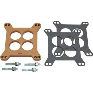 Edelbrock 8723 4 Barrel Carburetor Spacer Wood Fiber Laminate 0 5in