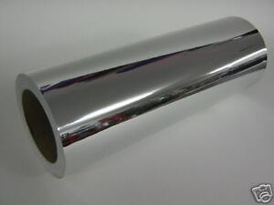 Silver Smooth Chrome Sign Vinyl 12 Inch X 50 Feet