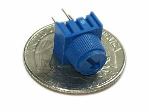1k Ohm Single Turn Trimmable Potentiometer W Knob Pack Of 2