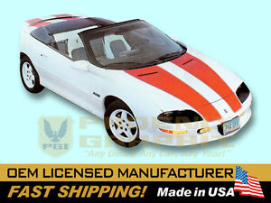 1993 1994 1995 1996 1997 Camaro 30th Z28 Rs Rally Sport Decals Stripes Kit