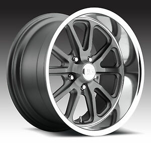 Cpp Us Mags U111 Rambler Wheels 18x8 Fr 20x9 5 Rr Ford Mustang Gt Shelby Xx