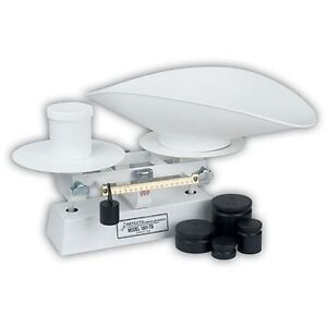 Detecto 9 Diameter Platforms 16 Lb W scoop 1001tb Dough Scale New