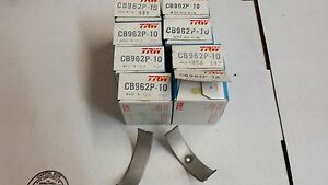 351 Cleveland 351m 400 Performance Rod Bearings Cb962p 010 Under W Dowel Hole