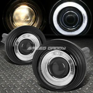 For 02 09 Gmc Envoy Gmt360 Halo Projector Clear Lens Oe Bumper Fog Light Lamp