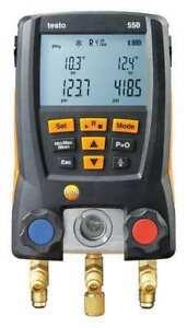 Digital Manifold Gauge supr Heat 2valves Testo 0563 1550