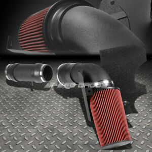 For 99 04 Ford Superduty 6 8 V10 Wrinkle Finish Aluminum Air Intake Heat Shield