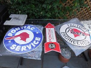 Tin Signs For The Pontiac Owner Mancave Starter Kit Pontiacs Gto s F birds