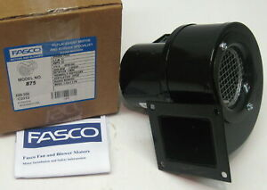 B75 Fasco Centrifugal Blower Assembly 75 Cfm 3000 Rpm 115 Volts
