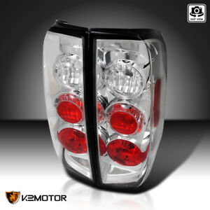 For 05 14 Nissan Frontier 09 12 Suzuki Equator Rear Brake Lamps Tail Lights Pair