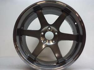 Rays Engineering Te37 19x9 5 5x120 Wheel New Only Used To Test Fitment On Car